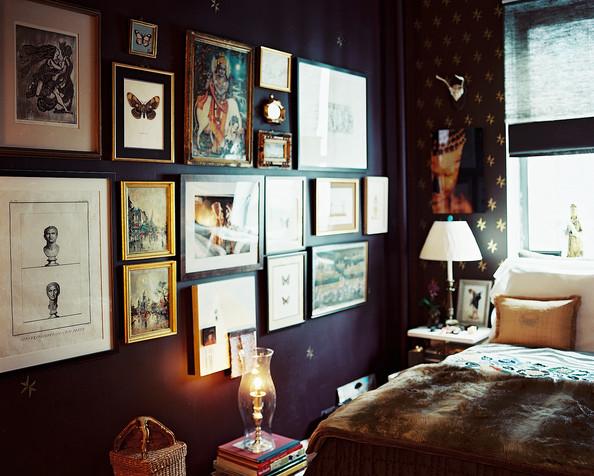 Bedroom wallpaper ideas extravagant green wall idea for bedroom 594x476