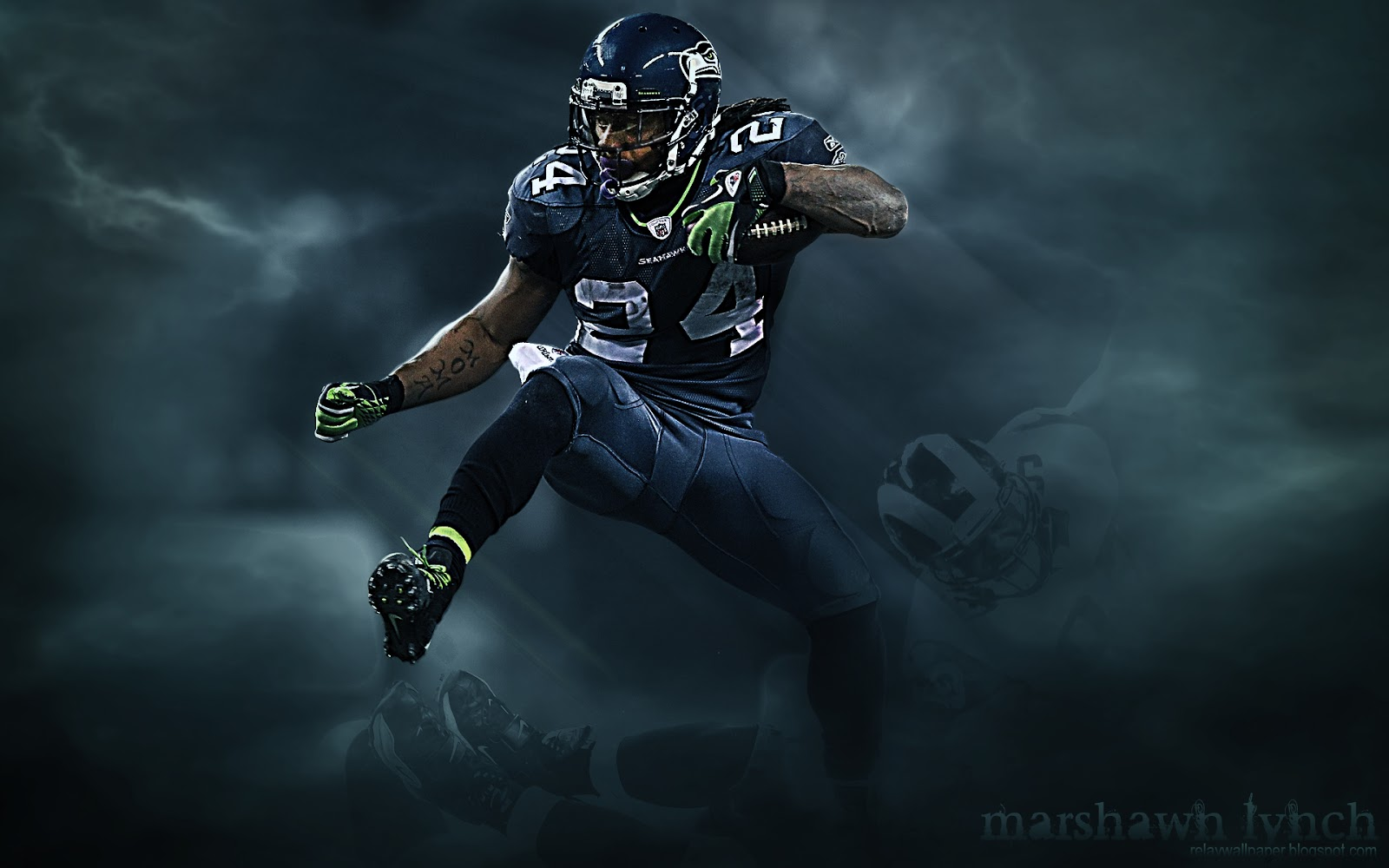 Best 43 Marshawn Lynch Desktop Background on HipWallpaper 1600x1000