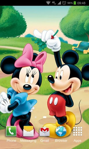 Mickey Mouse Live Wallpaper Wallpapersafari