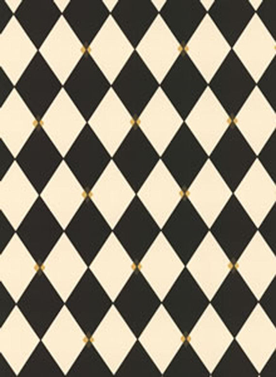 Black Harlequin Wall Paper   Wall Sticker Outlet 570x777