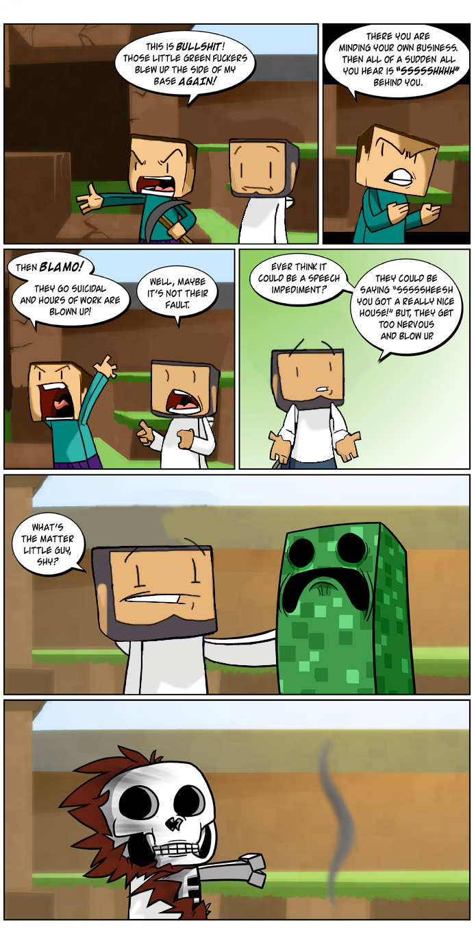 Download Minecraft Lold Funny Pictures Videos Wallpaper 692x1362