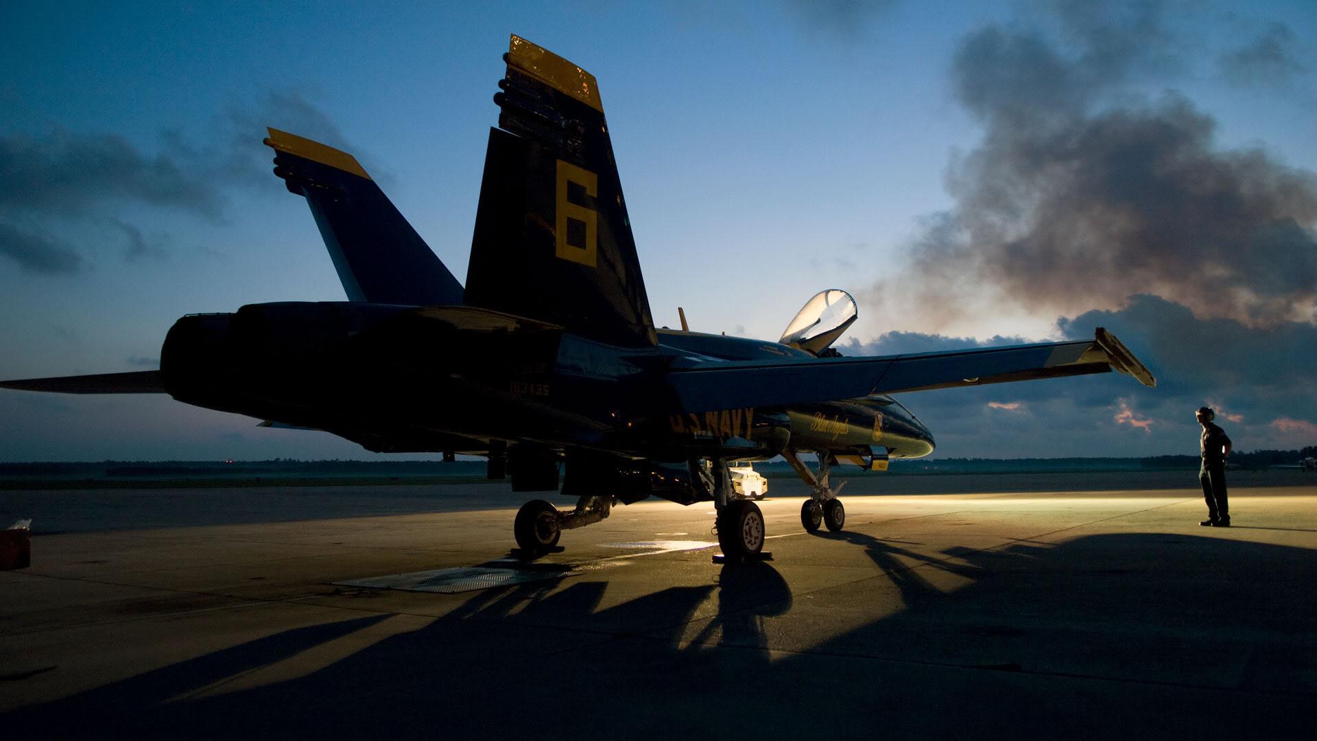 Aircraft Air Superiority Blue Angels F18 F 18 F 18E Super Hornet F 18 1920x1080