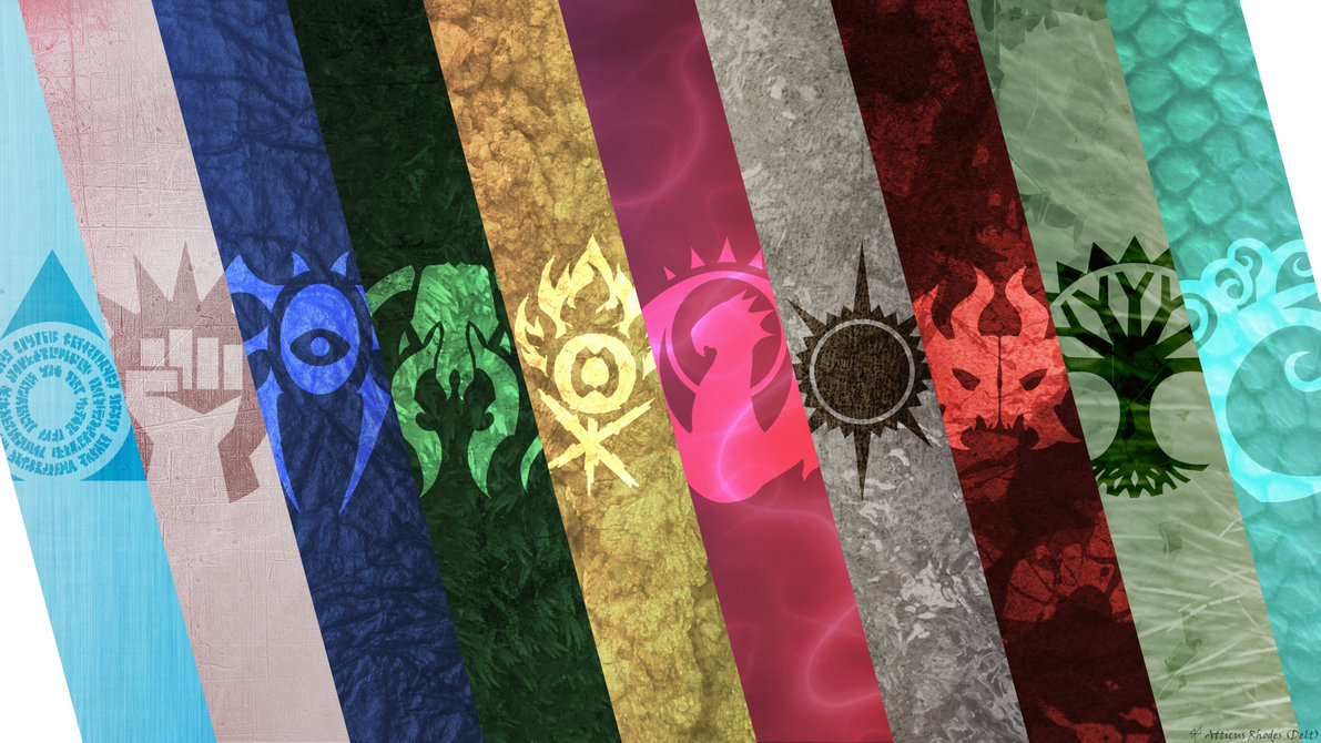 Ravnica Guild Series 1 by deltaraen 1191x670