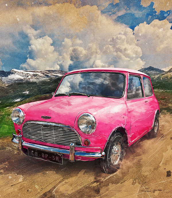 [49+] Classic Mini Cooper Wallpaper On WallpaperSafari