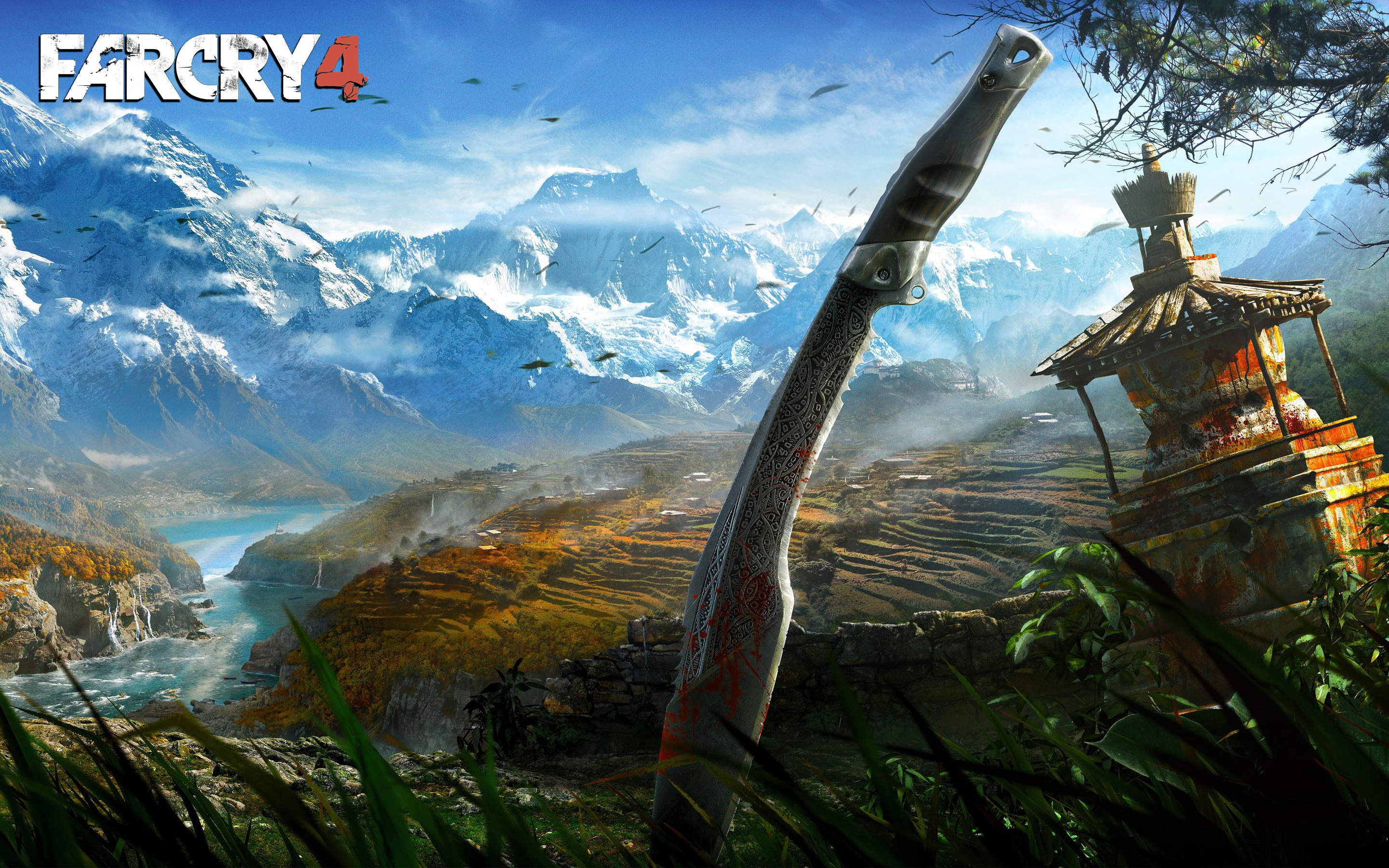 Far Cry 4 Himalayas Wallpapers HD Wallpapers 2880x1800
