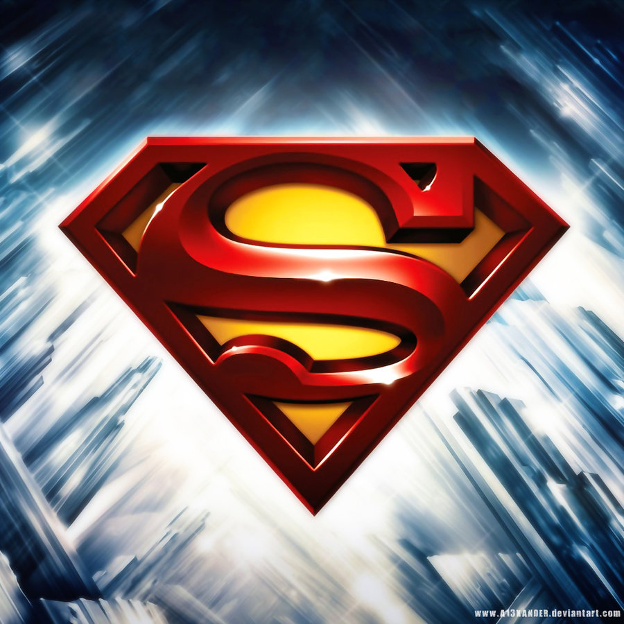 Superman Shield Wallpaper