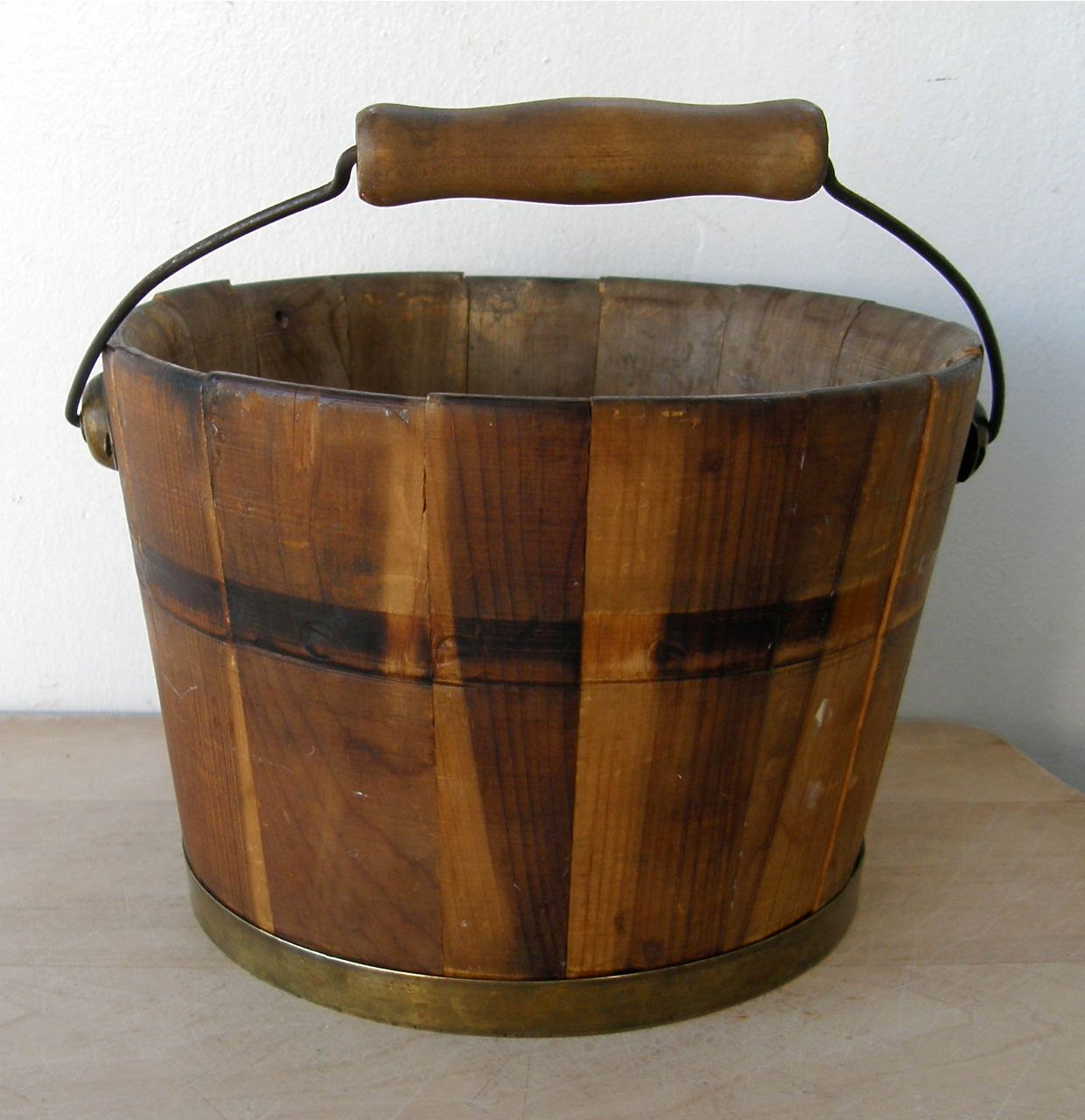 Old Wooden Buckets 1240x1280
