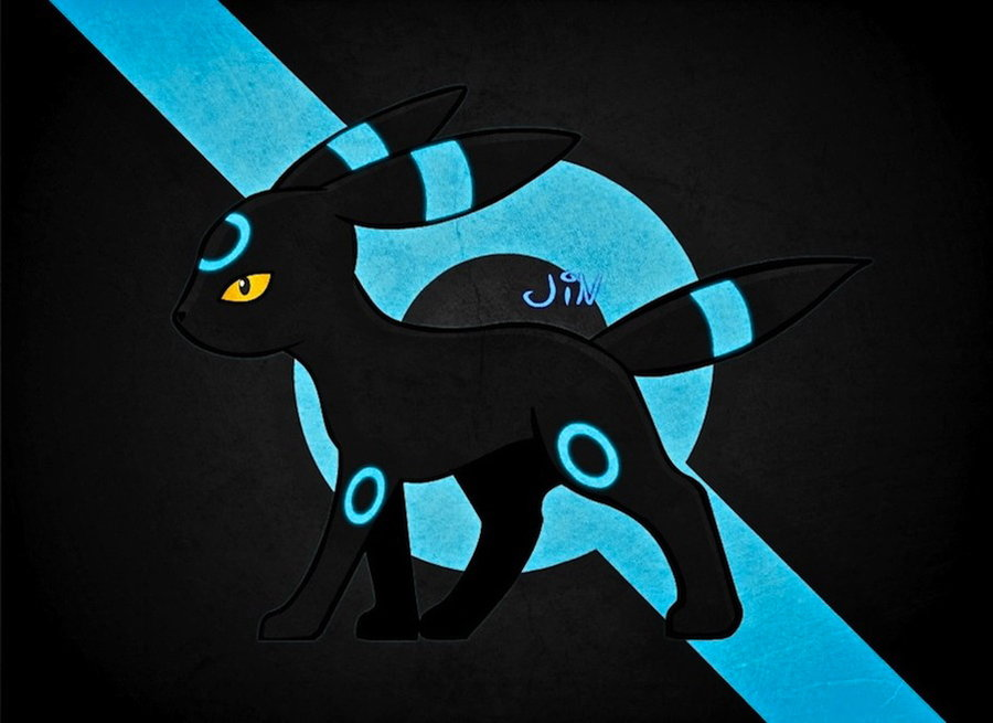 Shiny Umbreon Wallpaper Umbreon shiny version by 900x655