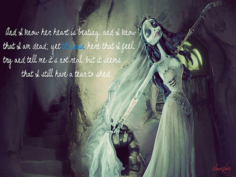 Free Download Corpse Bride Emily Wallpaper Forwallpapercom