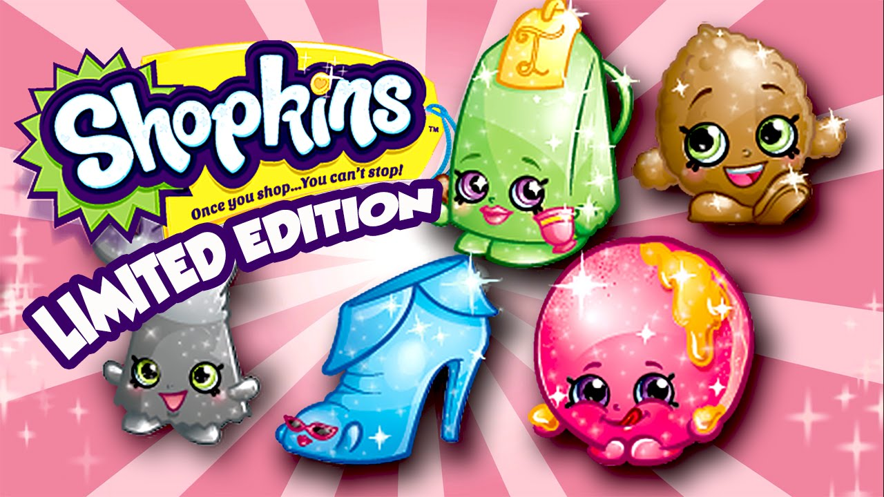 Shopkins Season 2 All Limited Edition Characters By Cartoon Toy WebTV 1280x720