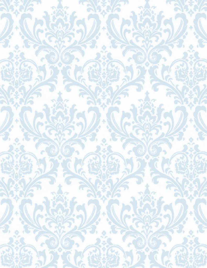 Free Download Wallpaper Blue Damask Wallpaper Background Theme