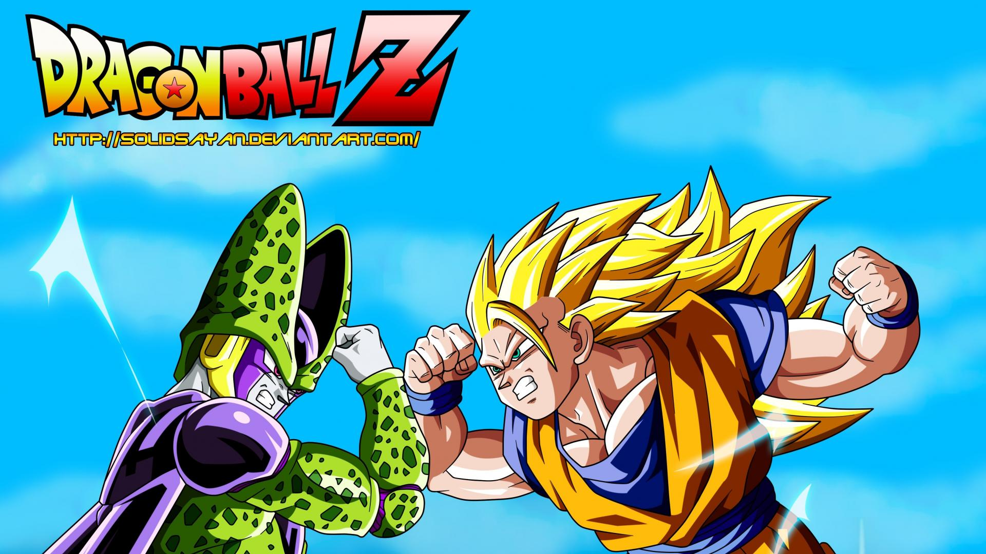 Goku perfect cell dragon ball z gt wallpaper 16020 1920x1080