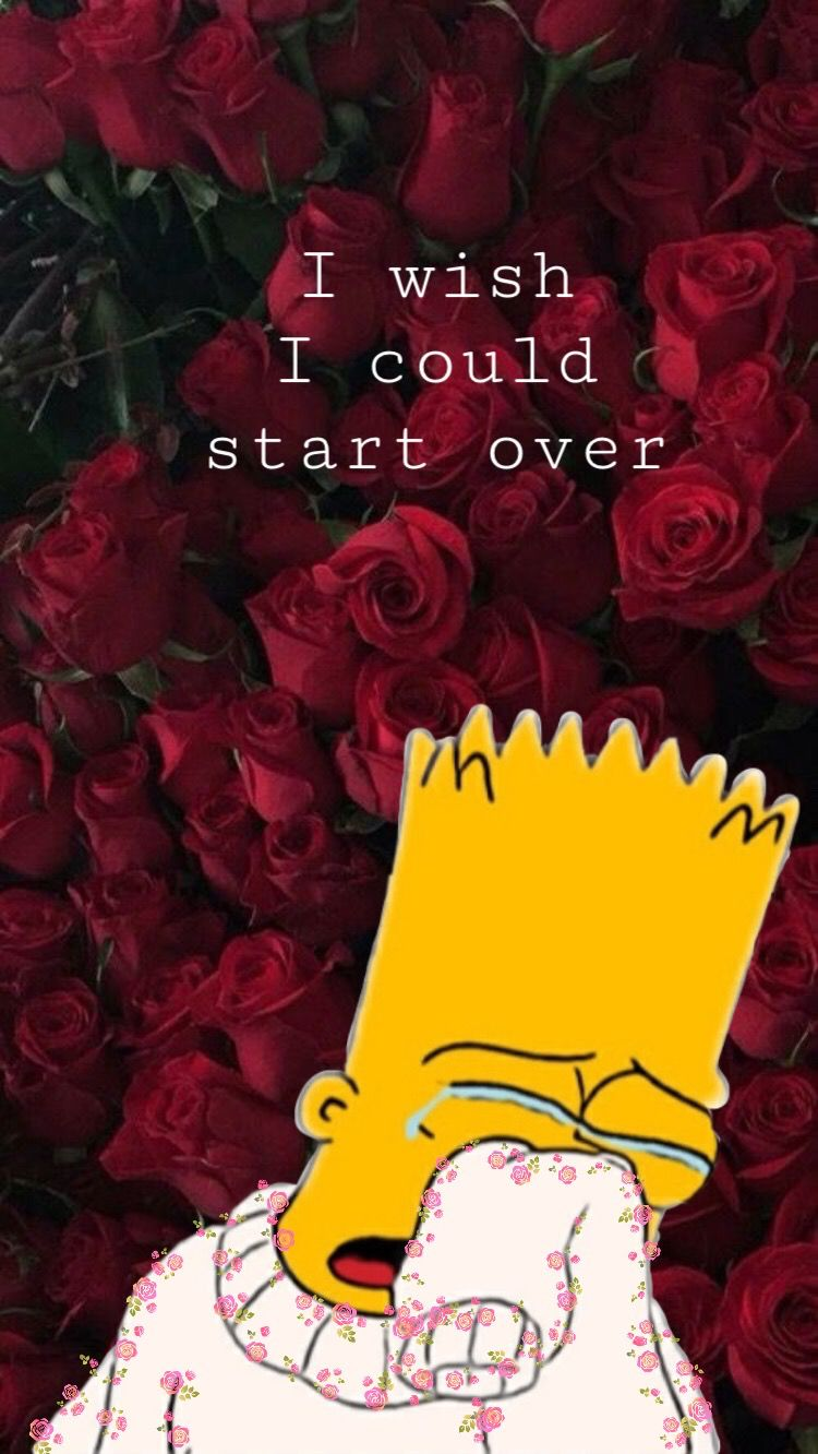 aesthetic wallpaper bart simpson Wallpapers in 2019 Simpson 750x1332