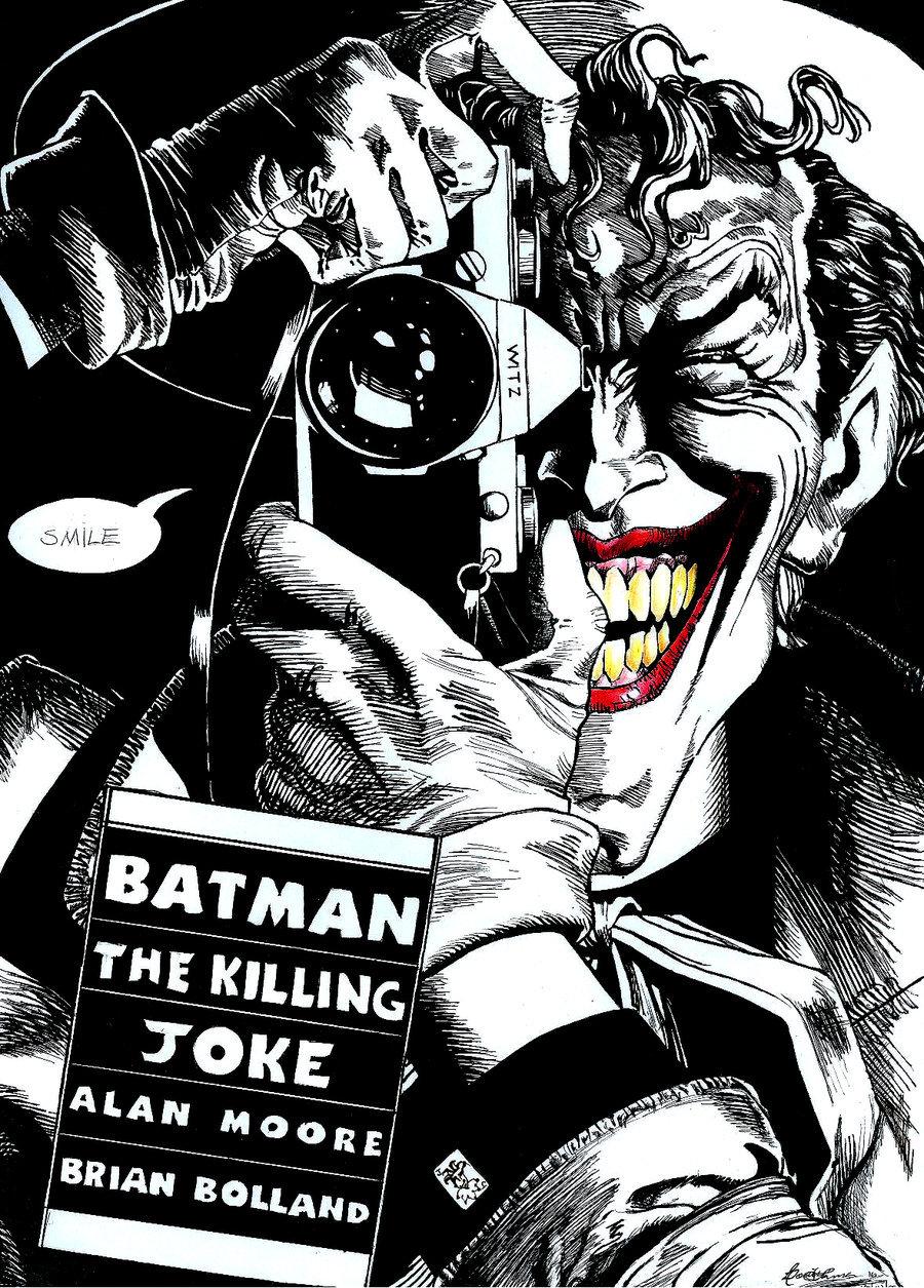 The Killing Joke   Joker by MsRainmaker 900x1255