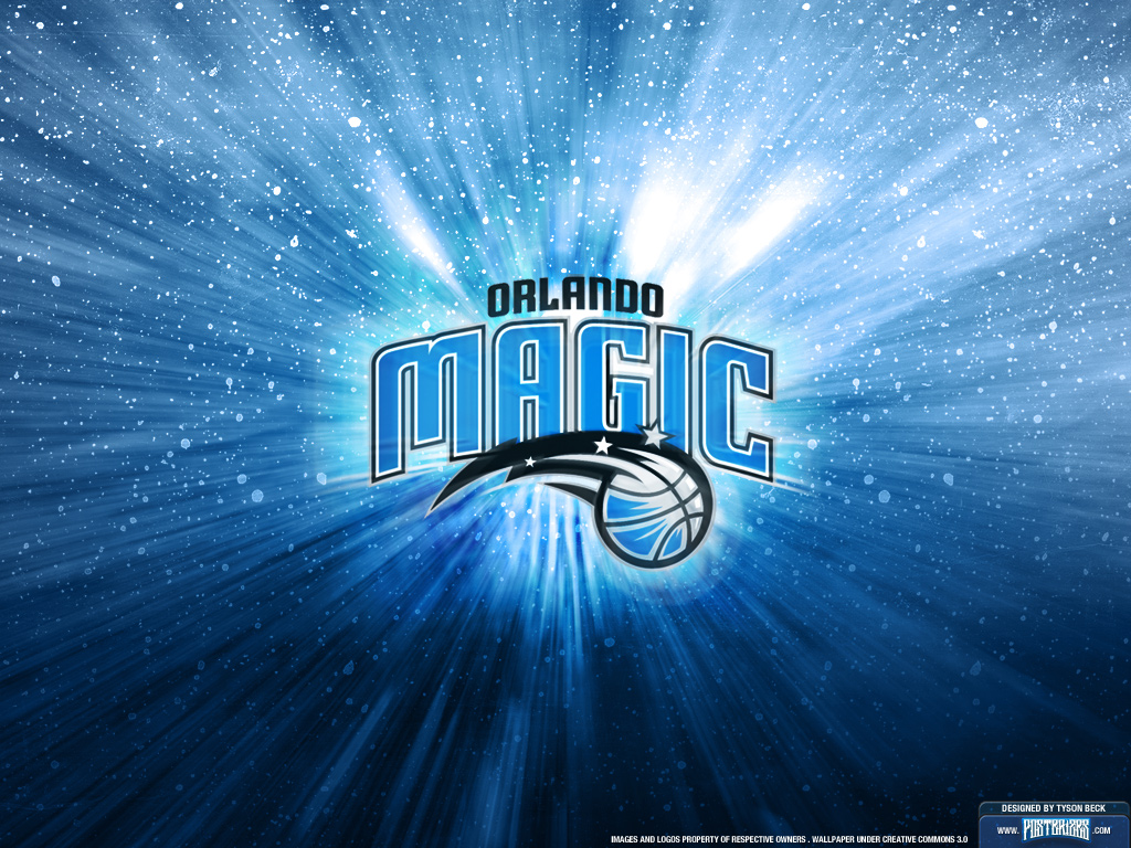 Orlando Magic is with a team logo wallpaper on your computer and phone 1024x768