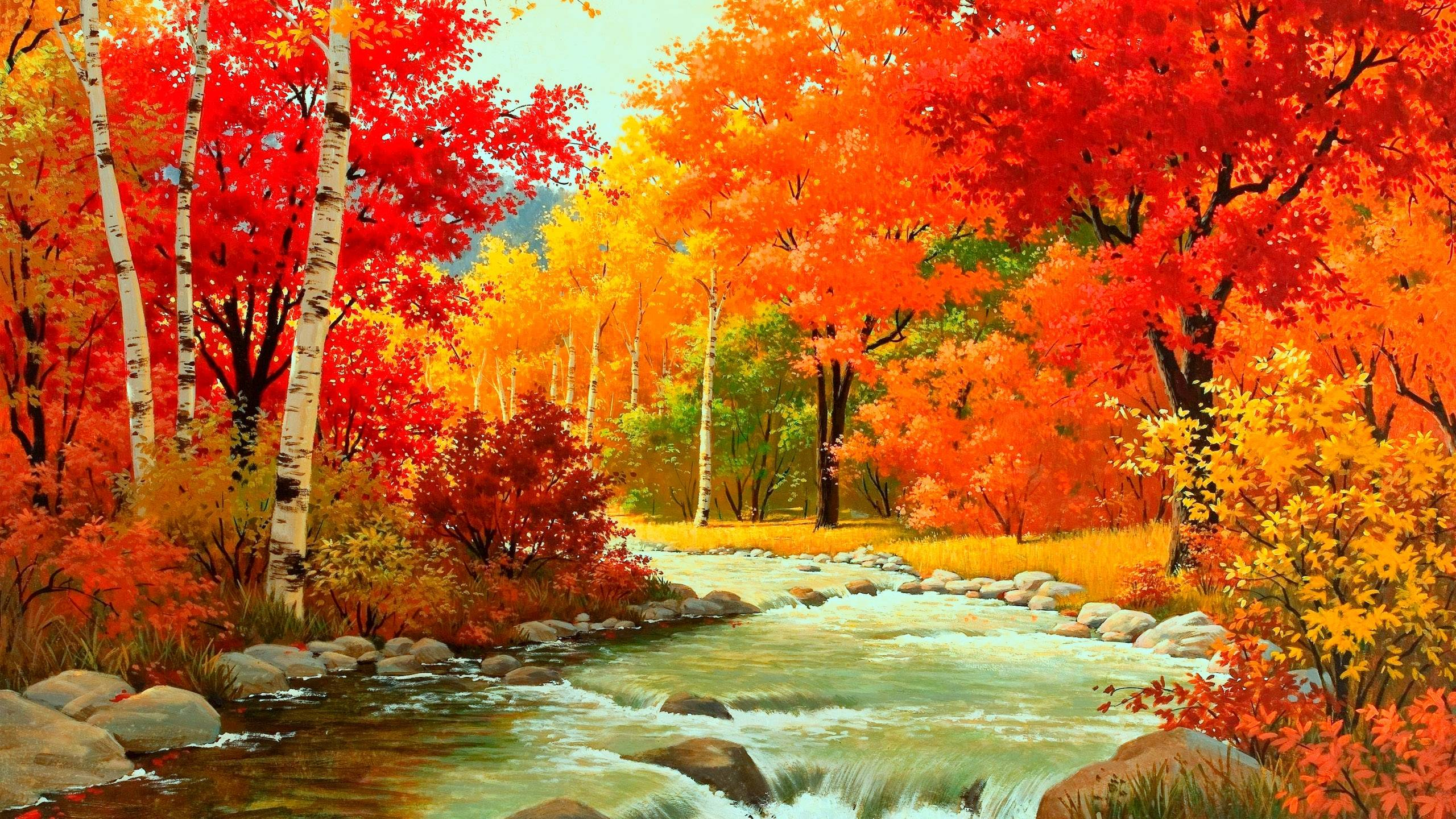 HD Autumn Wallpapers 2560x1440