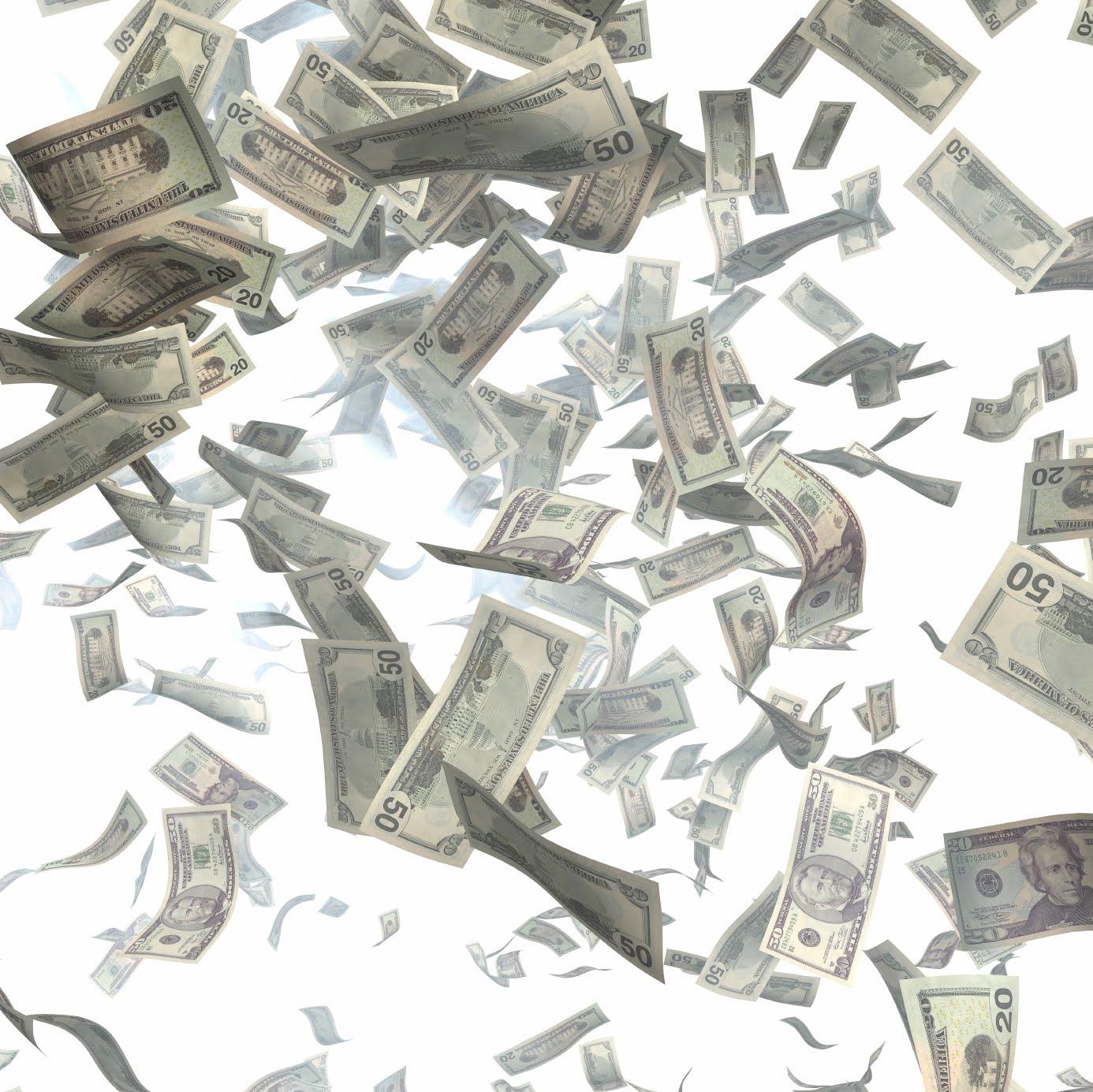 Falling Money Wallpaper HD wallpaper background 1386x1385
