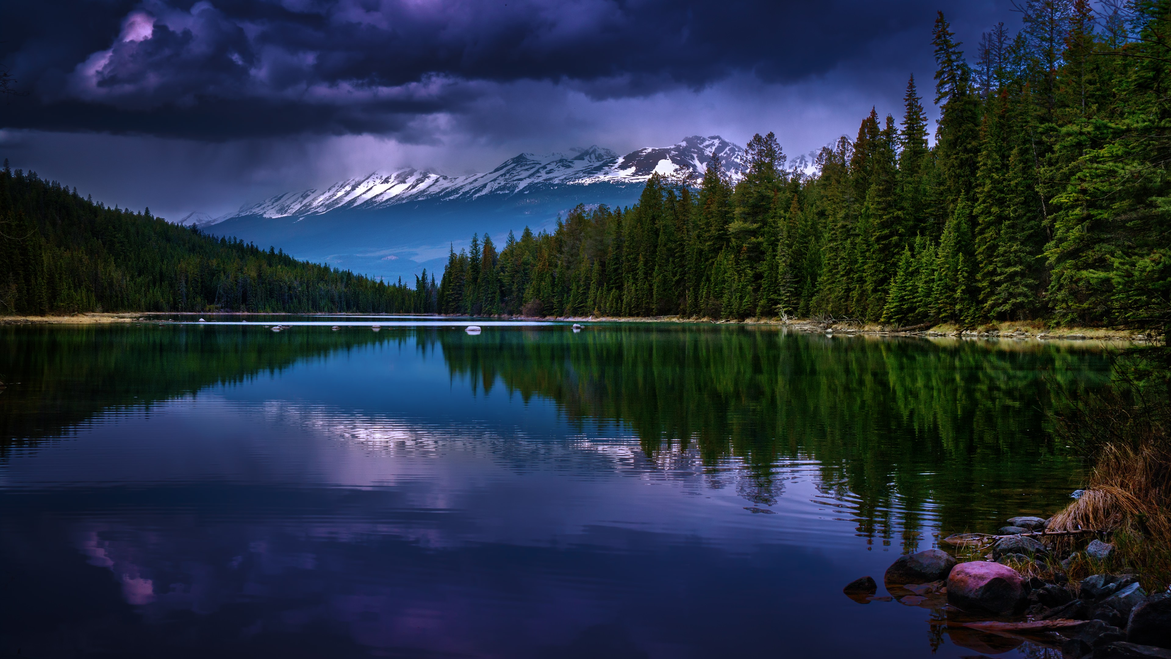Alberta Canada HD wallpaper for 4K 3840 x 2160   HDwallpapersnet 3840x2160