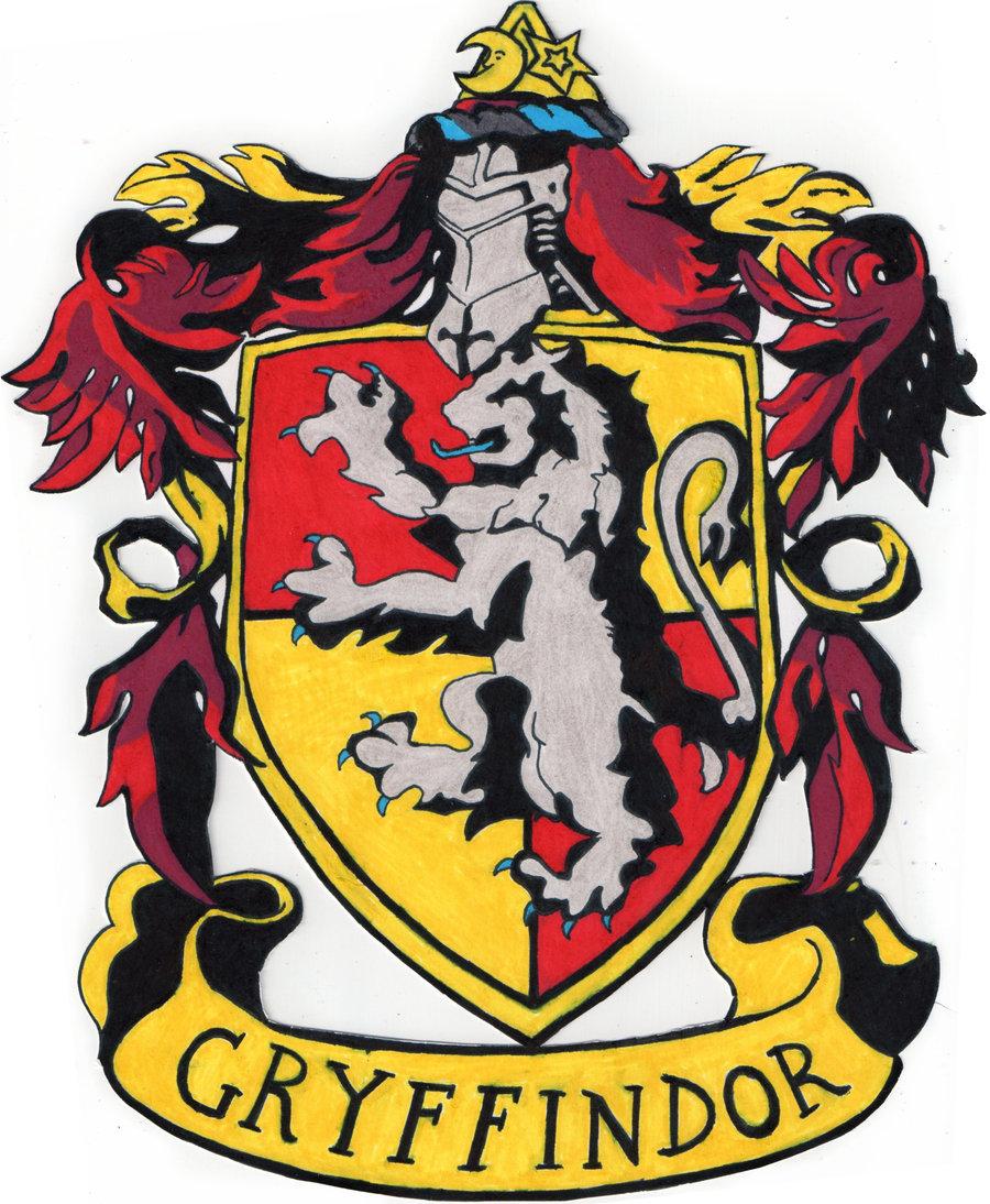 Gryffindor Crest by tuliipiie 900x1094