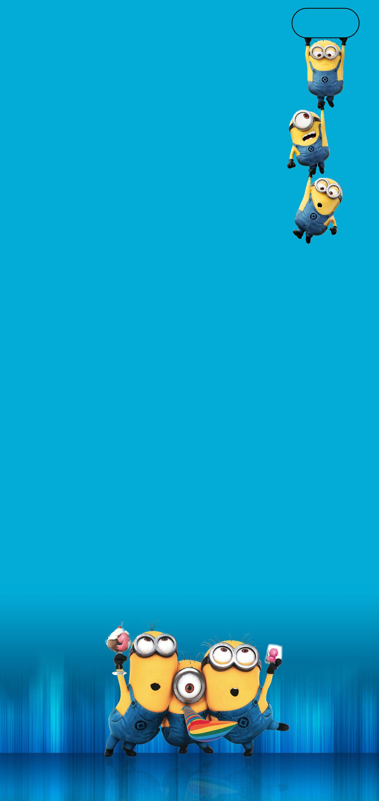 Minions Hang Out and Party Galaxy S10 Hole Punch Wallpaper 1440x3040