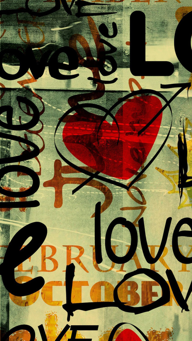 Written In Graffiti iPhone 5s Wallpaper Download iPhone Wallpapers 640x1136
