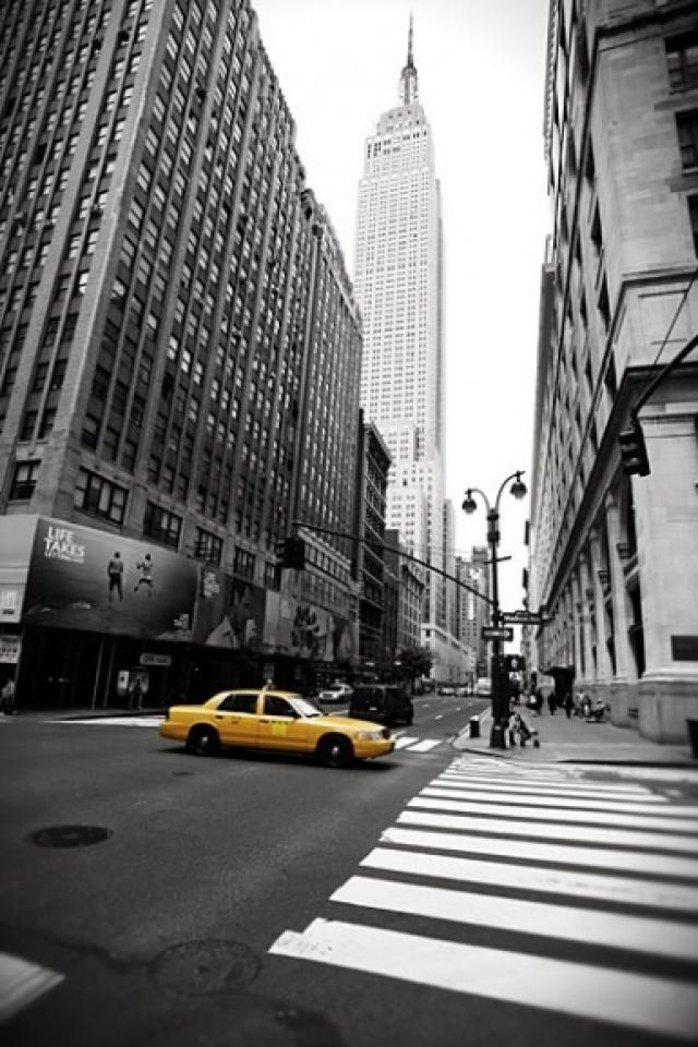 Free Download Image New York City Taxi Iphone Hd Wallpaper