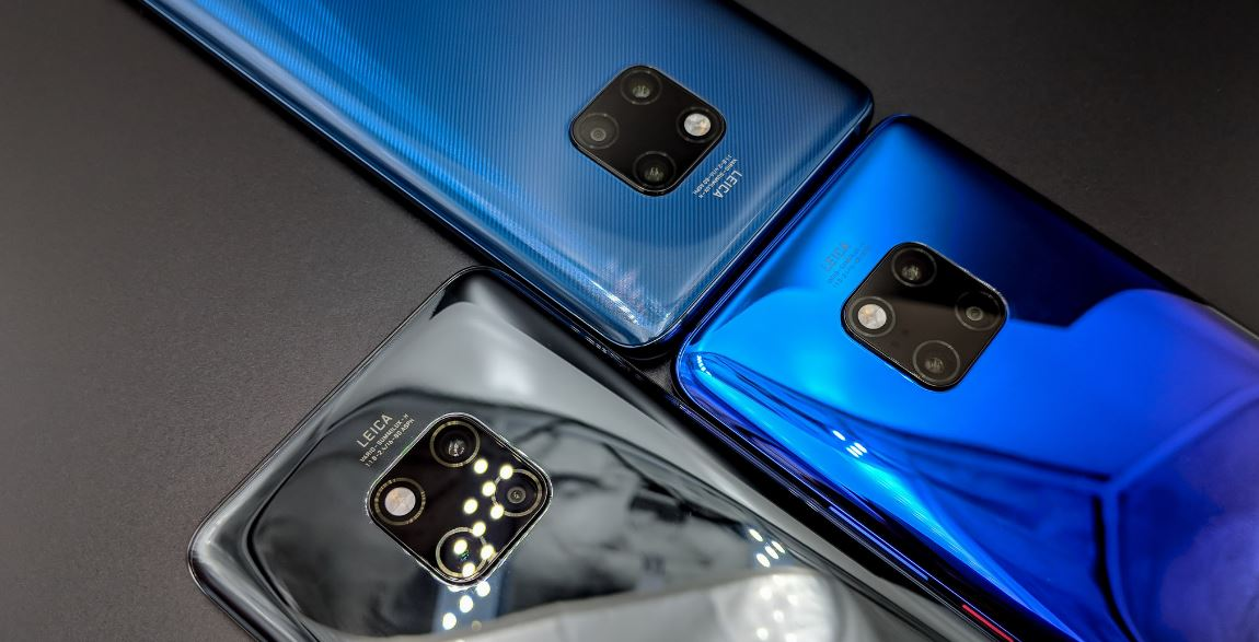 Download Official Huawei Mate 20 Pro and Mate 20 X Stock Wallpapers 1150x587