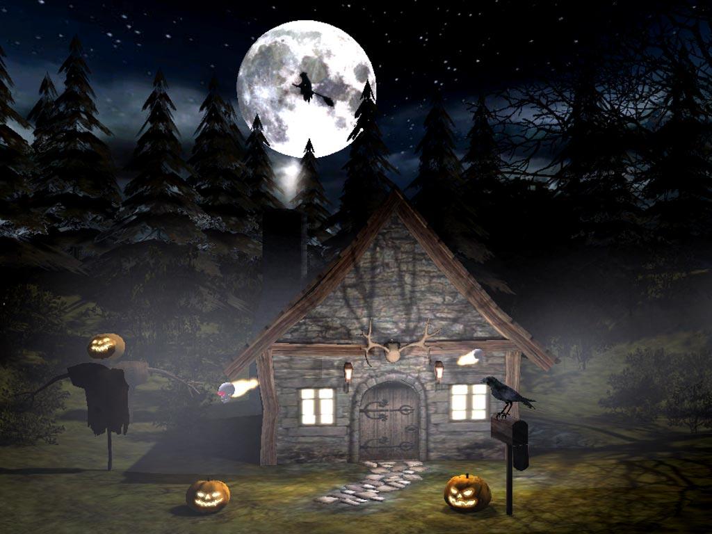 Scary Halloween Wallpapers and Screensavers - WallpaperSafari