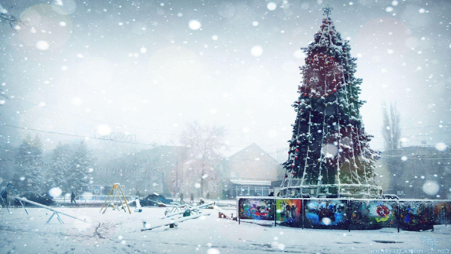 Winter Christmas Wallpapers 1920x1080