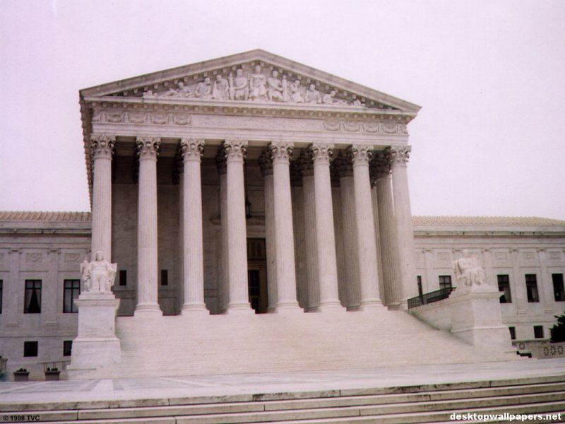 The Supreme Court   Washington DC at desktopWallpapers 800x600