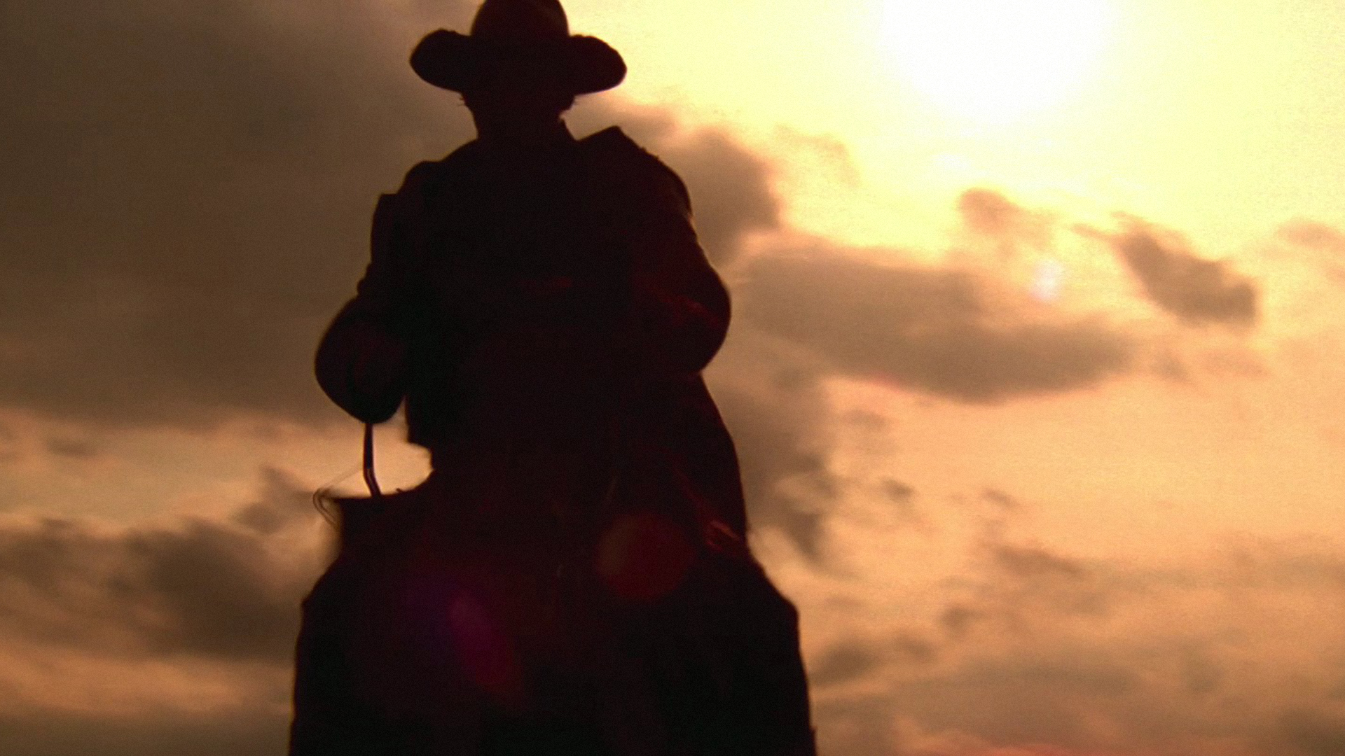 Cowboy At Sunset Hd Wallpaper Western Wallpapers Pictures 1920x1080