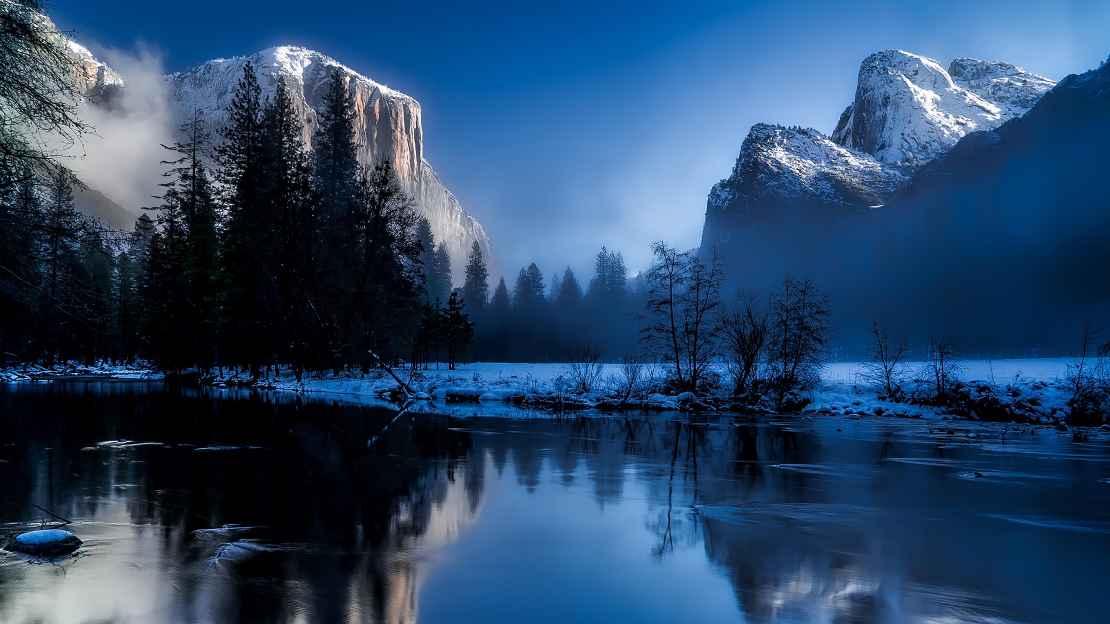 Yellowstone Desktop Background 3840x2160