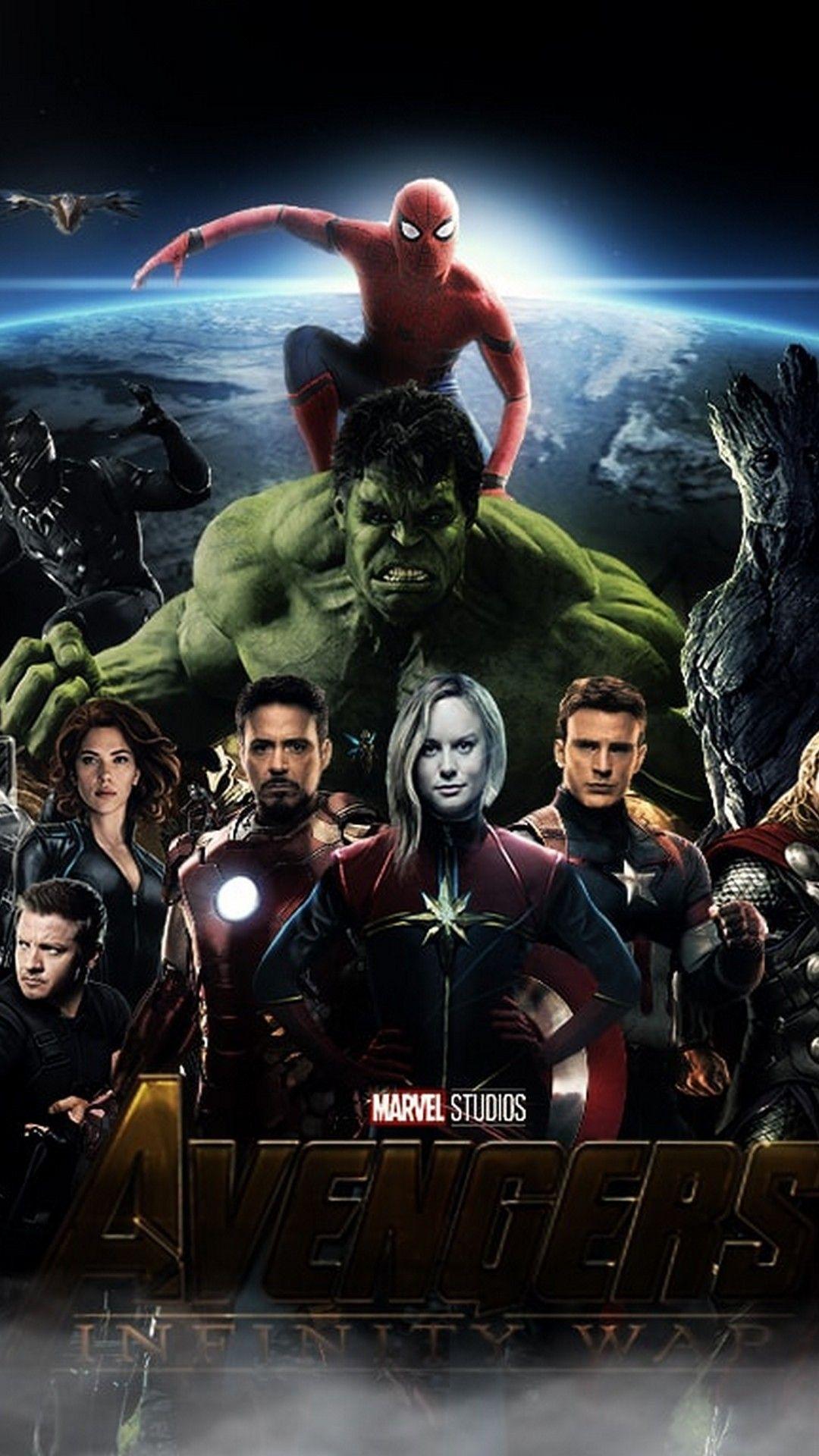 The Avengers Wallpaper posted by John Johnson 1080x1920