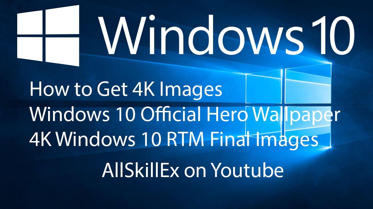 Windows 10 hero wallpaper 4k wallpapersafari for Windows official