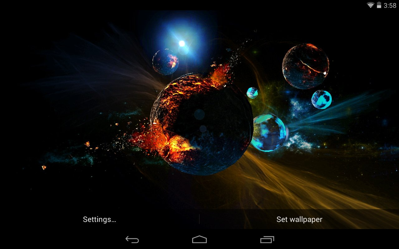 Best Space Live Wallpapers   Android Live Wallpaper Download 1280x800