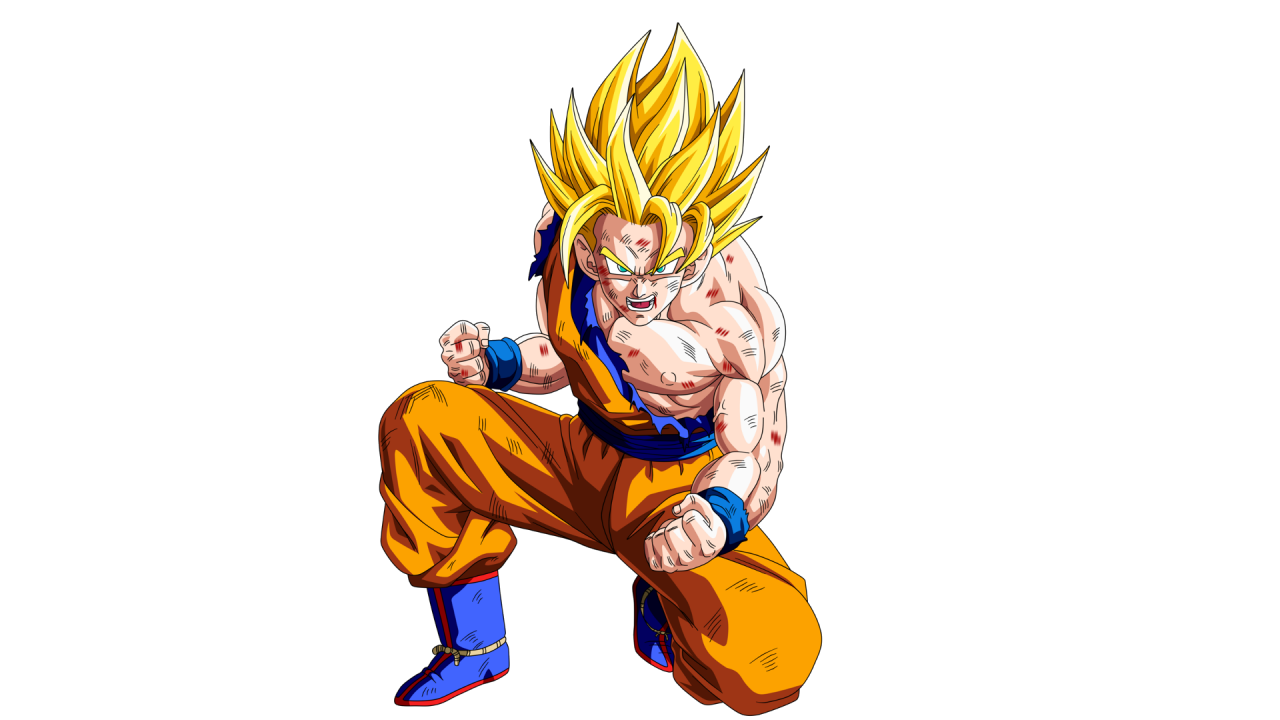 1280x720 Son Goku Dragon Ball Z desktop PC and Mac wallpaper 1280x720