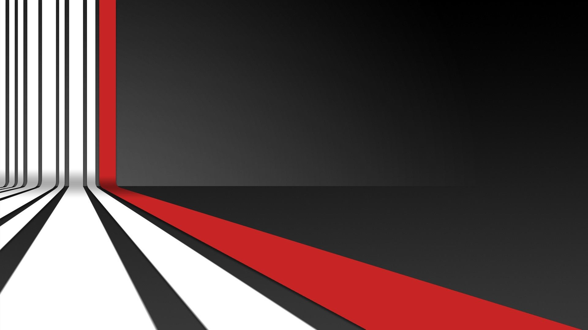 White Striped and Red Stripe HD Wallpaper 1920x1080