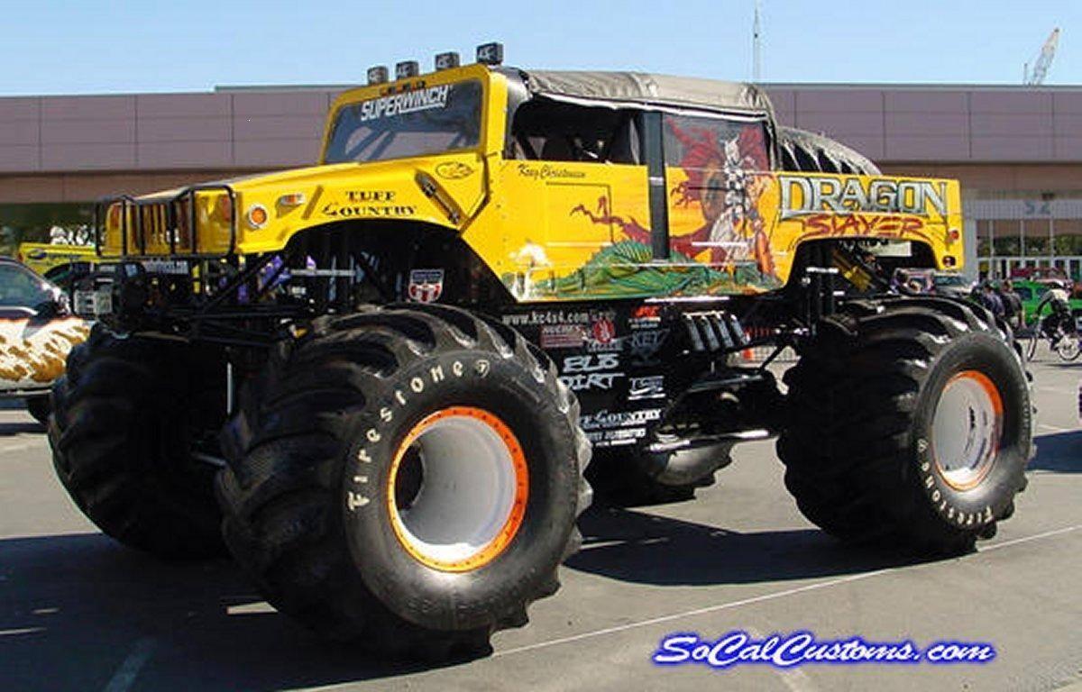 Monster Truck Wallpapers 1200x768