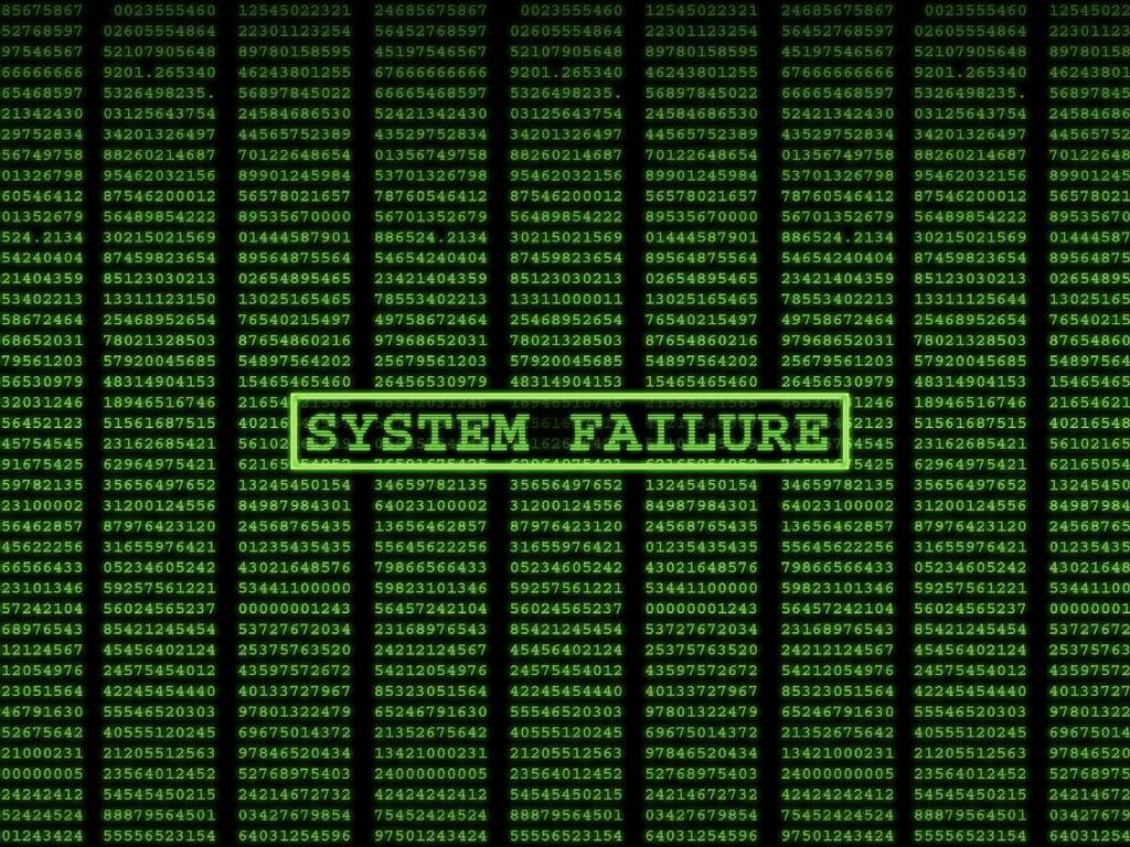 computer wallpaper system failure matrix code wallpaper 1024x768