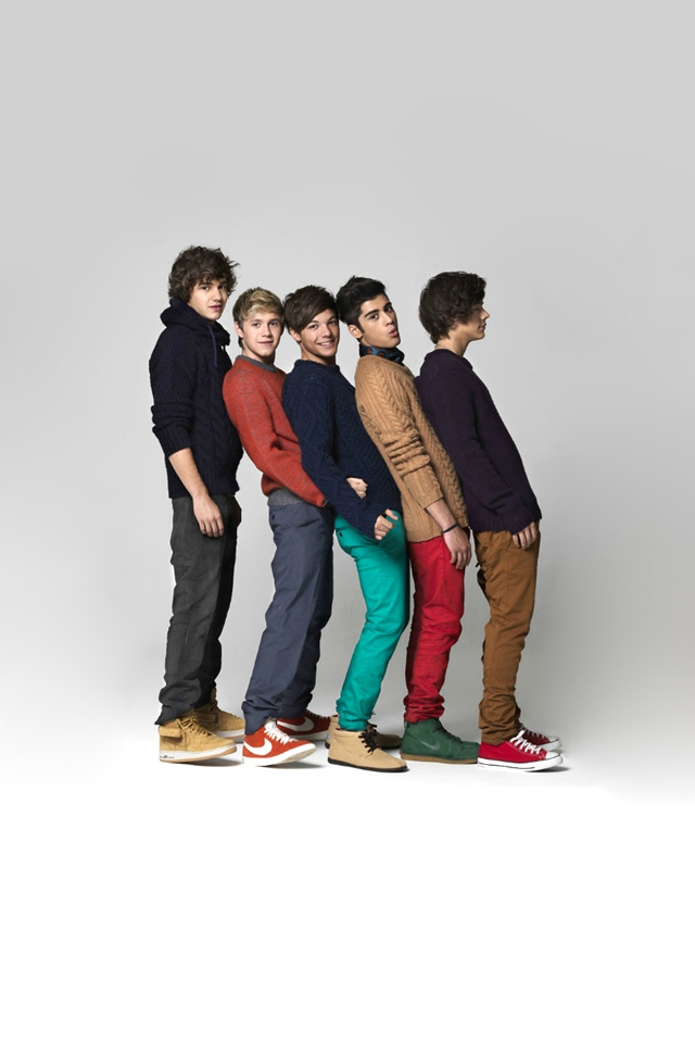 One Direction iPhone Wallpaper - 327.1KB