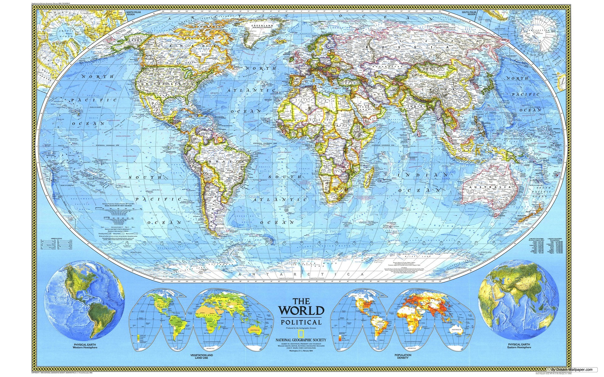 Map of the World Background Download HD Wallpapers 1920x1200