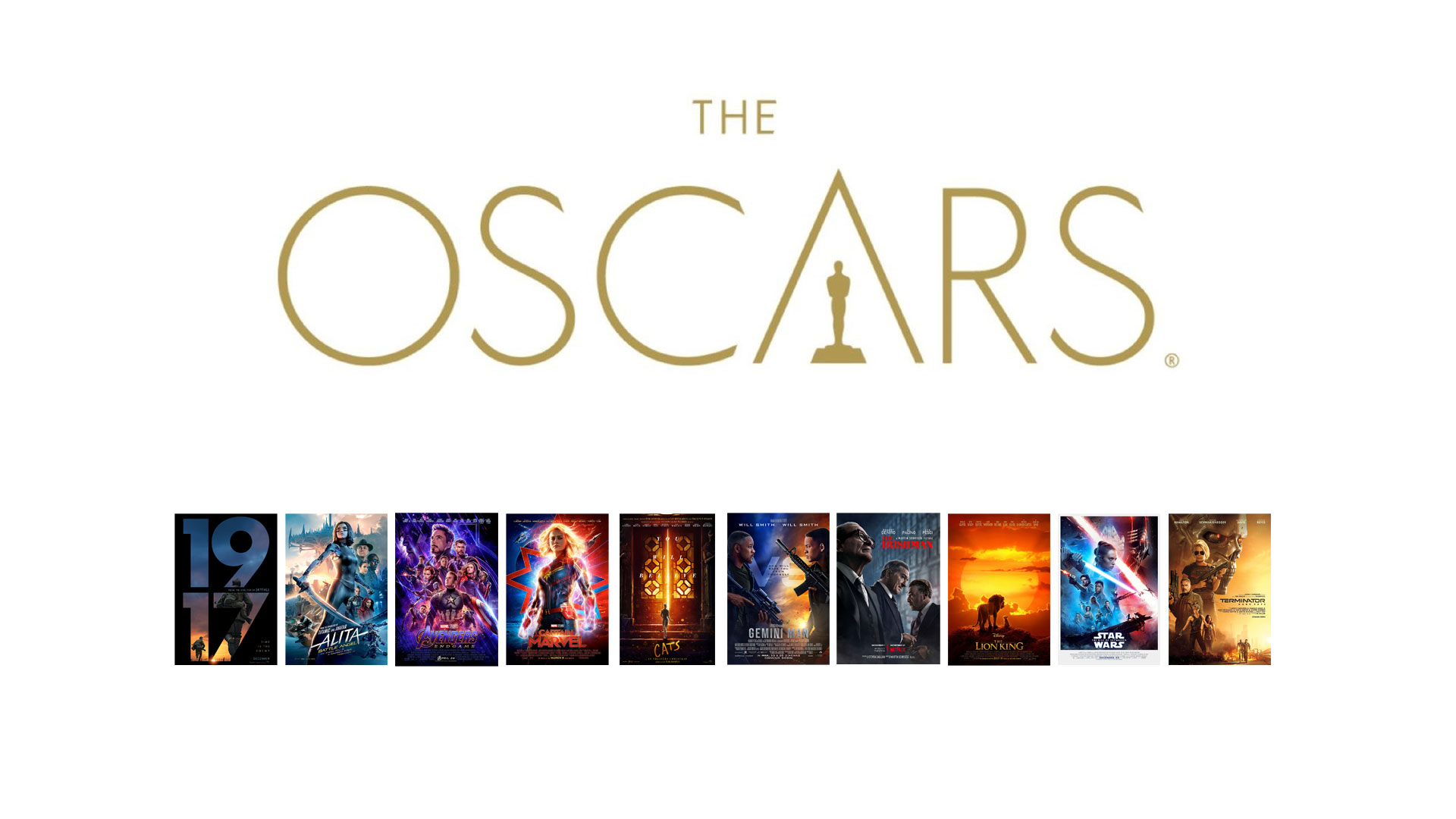 OSCARS 2020 THE VFX Shortlist   The Art of VFXThe Art of VFX 1920x1080