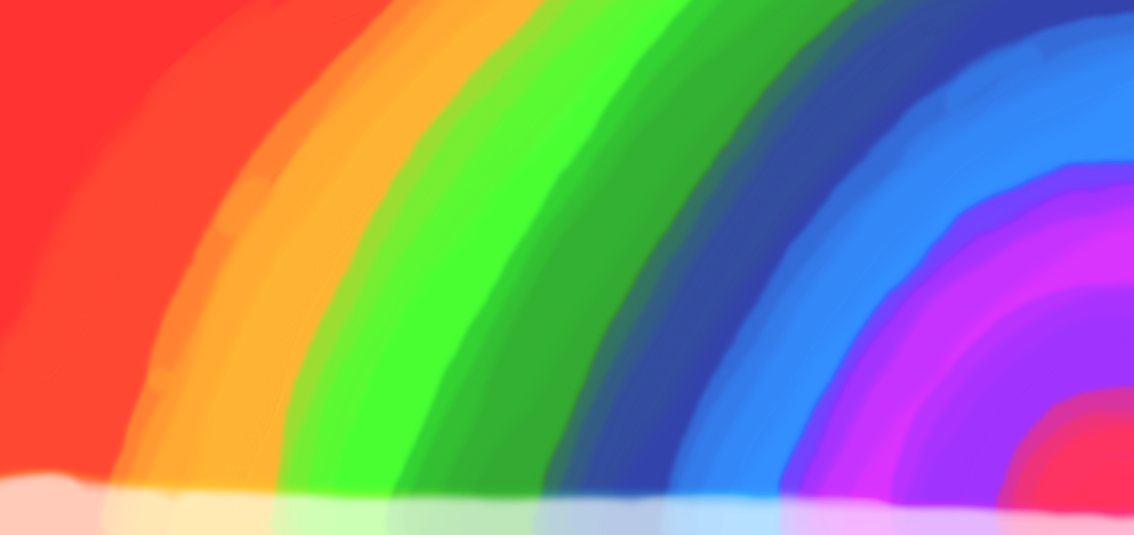 Rainbow Coloring background or screen by Sonic5100 1240x585