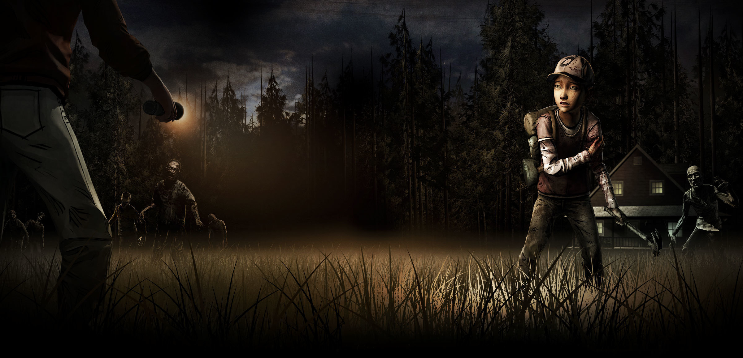 74 The Walking Dead Game Wallpaper On Wallpapersafari