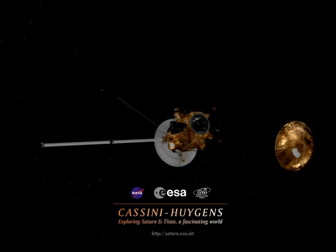 Cassini Huygens wallpaper Cassini Huygens Space Science Our 1110x833