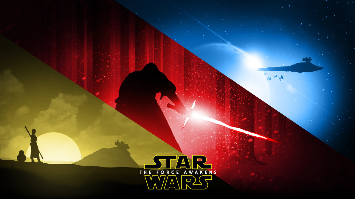 Star Wars The Force Awakens   Wallpaper by RockLou 1191x670