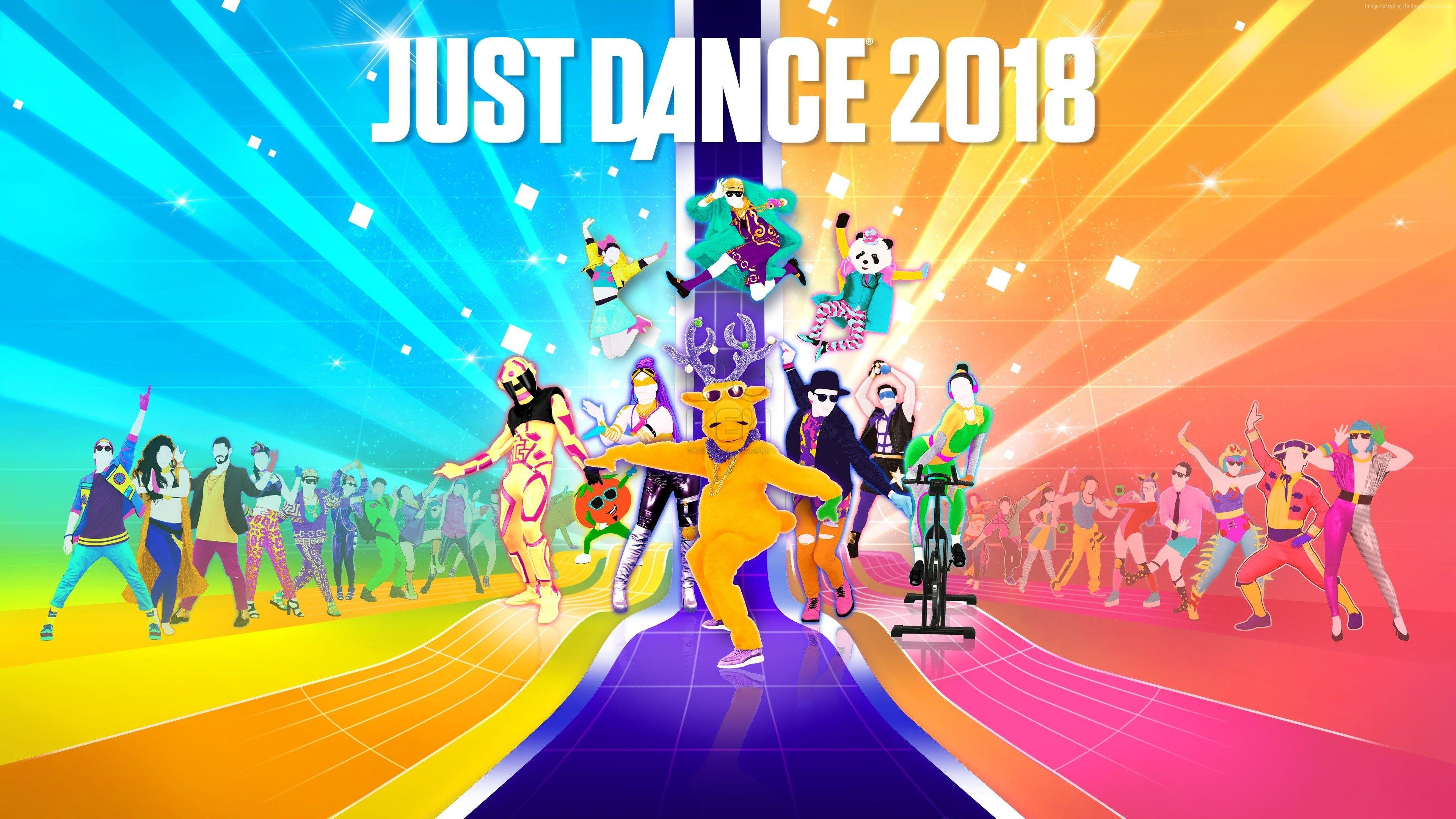 Just Dance Wallpapers   Top Just Dance Backgrounds 3840x2160