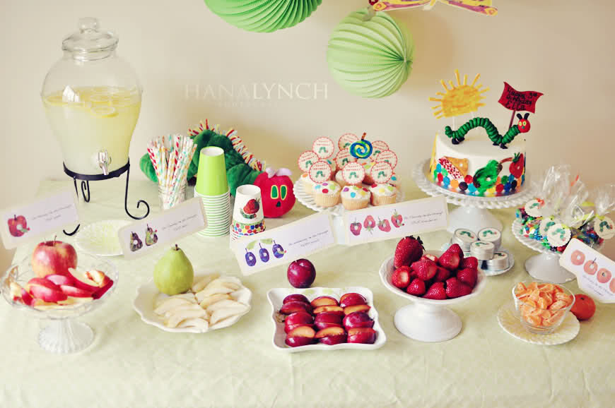 The Very Hungry Caterpillar Party Wallpaper Face Painting Ideas 870x578