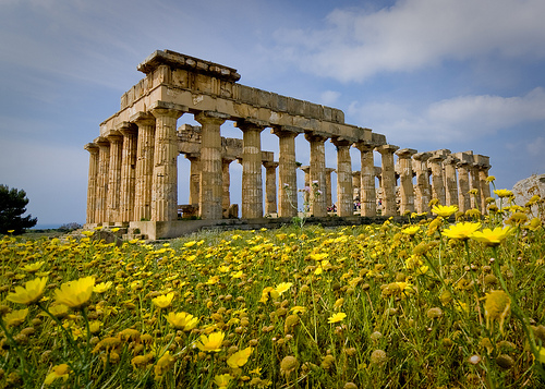Sicily Selinunte Temple creative commons wallpaper Flickr   Photo 500x357