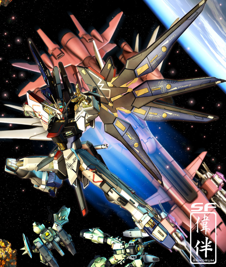 Gundam Seed Wallpaper [AnimePaper] Wallpapers Gundam Strike Freedom 780x924